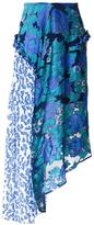 Preen by Thornton Bregazzi printed flower skirt - women - Silk/Polyester - S