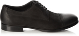 Dolce & Gabbana Sorrento washed-suede derby shoes