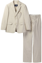 U.S. Polo Assn. Tan Pincord 2-Button Suit (Little Boys & Big Boys)