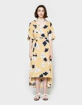 Just Female Nolita Wrap Dress in Yellow