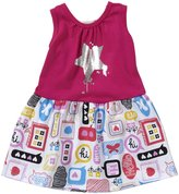 Lucky Jade Mod Tank Dress (Baby) - Popsicle Pink-6-12 Months