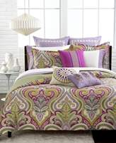 Echo Vineyard Paisley Twin Reversible Duvet Cover Set