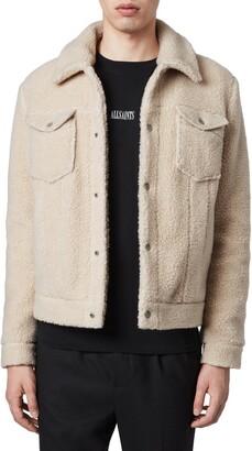 AllSaints Bevin Faux Fur Jacket