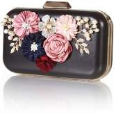 Yumi Floral Embellished Clutch Bag