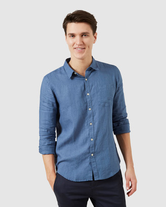 French Connection Men's Casual shirts - Linen Regular Fit Shirt - Size One Size, XS at The Iconic