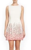 CeCe Petite Women's Claiborne Fit & Flare Dress