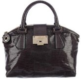 Jimmy Choo Embossed Leather Rosa Satchel