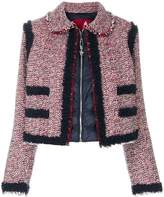 Moncler Gamme Rouge Aberdeen cropped jacket