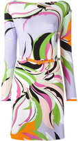 Emilio Pucci abstract pattern dress - women - Spandex/Elastane/Viscose - 40