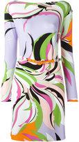 Emilio Pucci abstract pattern dress - women - Viscose/Spandex/Elastane - 44