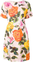 Dolce & Gabbana floral print dress - women - Silk/Spandex/Elastane/Viscose - 40