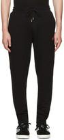 McQ Black Swallow Badge Lounge Pants