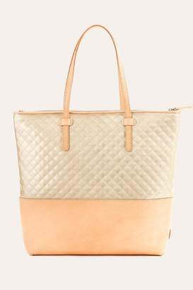 The Birds Nest MARKET TOTE-CANDY CHAMPAGNE