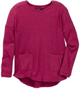 7 For All Mankind Drop Shoulder Sweater (Little Girls)
