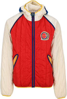 Marni Colour Block Quilted Jacket