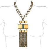 Swarovski Ileana Creations Crystal & Square Stones Chain Necklace