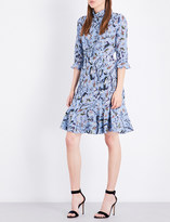 Erdem Paisley Vine-print silk-crepe de chine dress