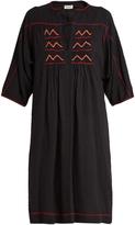 Masscob Dades embroidered silk dress