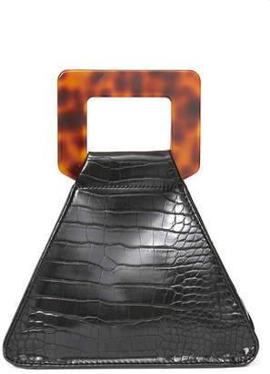 Urban Expressions Black Square Handle Handbag Black 1 Size
