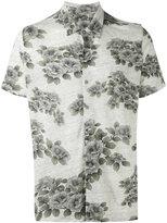 Majestic Filatures floral print shirt - men - Linen/Flax - S