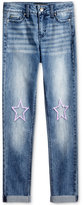 Celebrity Pink Patches Jeans, Big Girls (7-16)