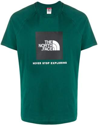 The North Face quote print t-shirt