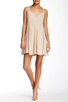 Lush Split Strap Swing Dress