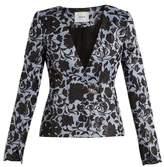 Erdem May floral-jacquard jacket