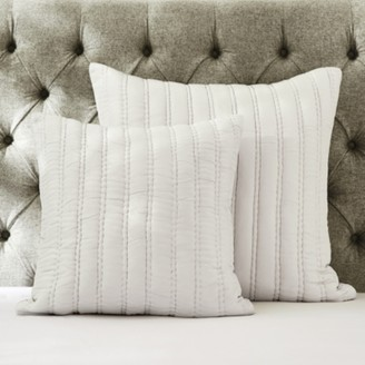 The White Company Elgin Cushion Cover, Cloud, Large Square
