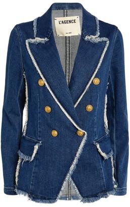 L'Agence Kaydence Denim Jacket