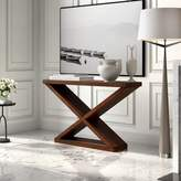 """Ambella Salone 56"""" Solid Wood Console Table Home Collection"""