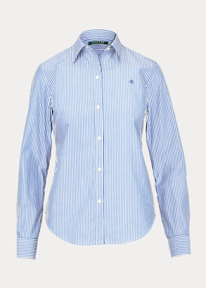 Ralph Lauren Easy Care Striped Cotton Shirt