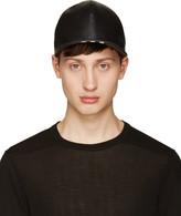 Niløs Black Lambskin Cap
