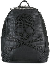 Philipp Plein Margin' backpack - men - Calf Leather - One Size