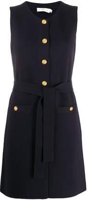 Tory Burch button up mini dress