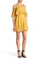 Thumbnail for your product : Lucy Paris Pleated Pop Over Dress