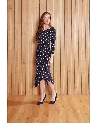 Gina Bacconi Monisa Print Jersey Dress