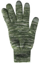 Asstd National Brand QuietWear 2-Layer Knit Touch Screen Gloves