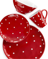 Maxwell & Williams Sprinkle Red 4-Piece Place Setting