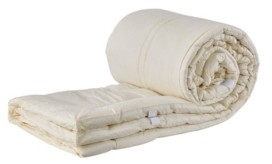 """Sleep & Beyond Mytopper, Washable Wool Mattress Topper, Cal King, 1.5"""" Thick"""