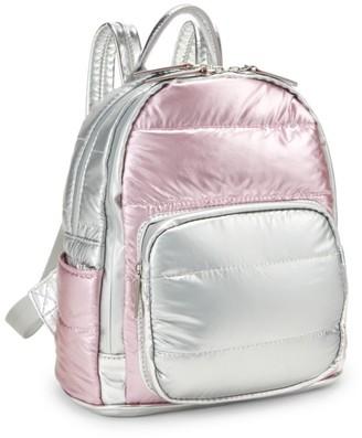 Bari Lynn Small Puffy Backpack