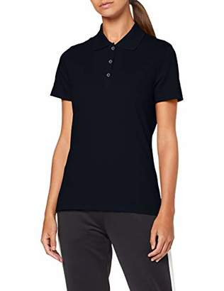 Trigema Women's 521603 Polo Shirt, (Cool-Grey 012)