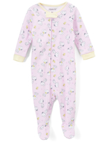 Komar Kids Peanuts Pink Footie - Infant