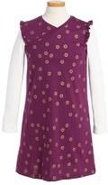 Tea Collection Toddler Girl's Uzu Uzu Wrap Neck Dress