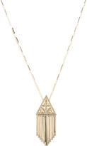 House Of Harlow Golden Hour Fringe Pendant Necklace
