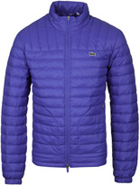 Lacoste Royal Blue Water Repellent Down Jacket