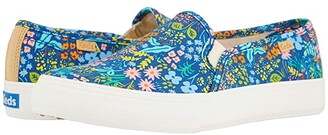 Keds Double Decker Meadow (Navy Printed Canvas) Women's Shoes