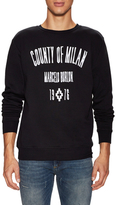 Marcelo Burlon County of Milan Graphic Crewneck Sweatshirt