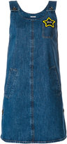 Miu Miu denim overall style dress