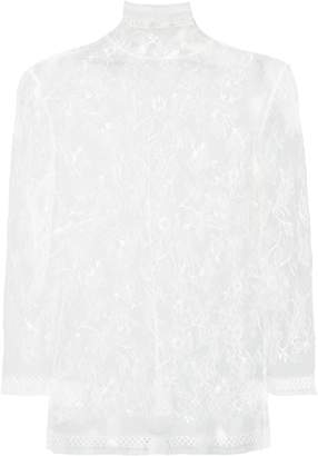 ADAM by Adam Lippes sheer lace vest